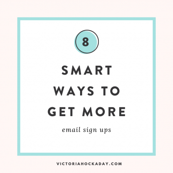email sign ups email subscribers